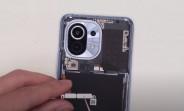 Brand new Xiaomi Mi 11 gets torn down on video