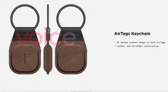 AirTag keyring from Nomad