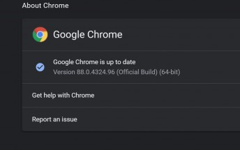 Chrome 88 checks for compromised passwords, adds tab search