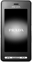 The LG KE850 Prada is an attempted union of technology and fashion