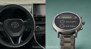 Cette montre Wear OS peut contrôler les thermostats Nest et certaines voitures Toyota