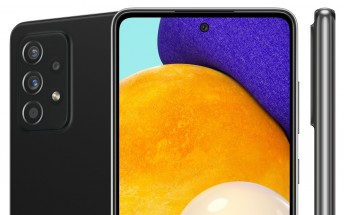 Samsung Galaxy A52 5G and A72 5G show up in leaked official renders