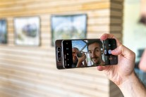 Samsung Galaxy A80: great quality selfies