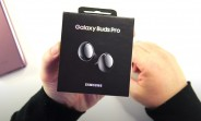 Samsung Galaxy Buds Pro appear in hands-on video