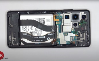 Samsung Galaxy S21 Ultra teardown reveals hard to swap screen and battery