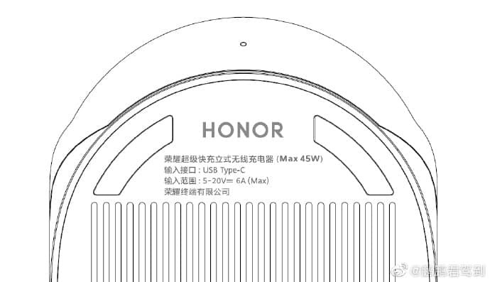 50W wireless charger for the Honor V40 gets certified byTUV Rheinland