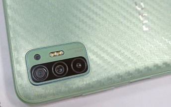 HTC phone with unusual design leaks, likely the Desire 21 Pro 5G