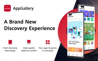 Huawei's App Gallery gets redesigned with improved navigation and updated 'Featured' tab