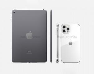 Size comparison - iPad mini 6 vs. iPhone 12 Pro