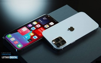 Renders show a possible iPhone 12S Pro (or 13 Pro) design - almost the same as the current 12 Pro