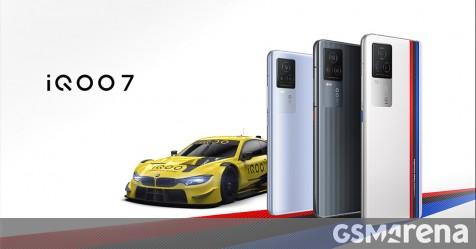 iQOO 7 debuts with Snapdragon 888, 120W charging and Origin OS - GSMArena.com news - GSMArena.com