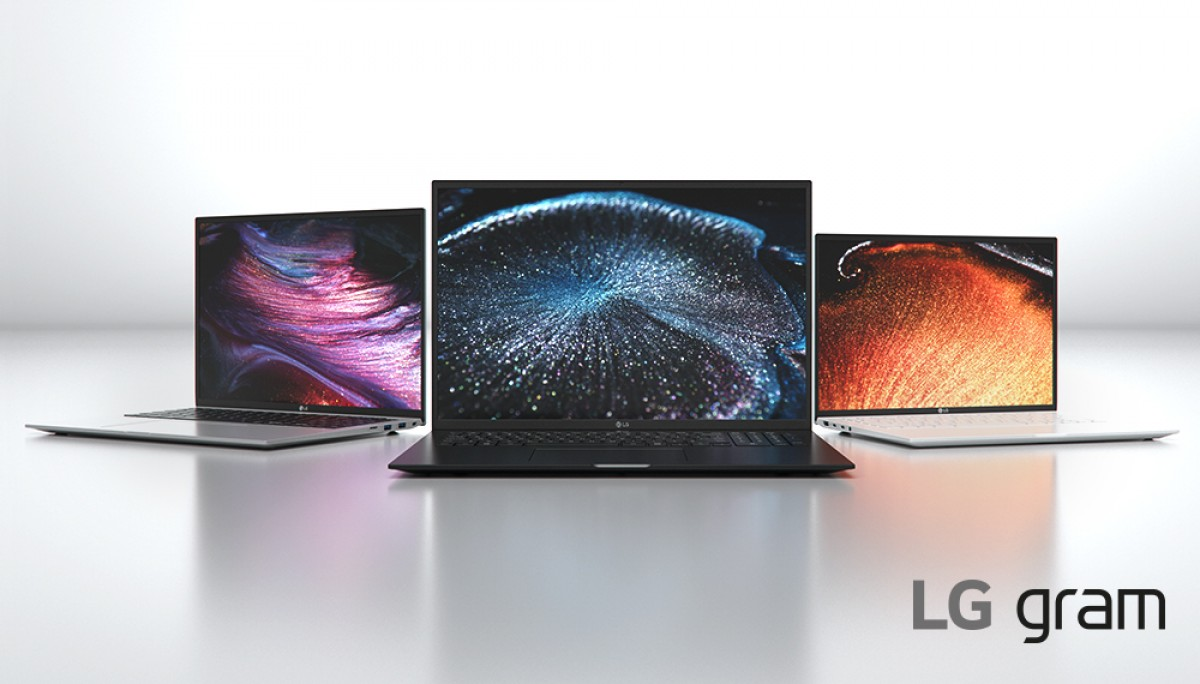 LG's 2021 Gram laptops come with 11th gen Intel processors, 16:10 screens