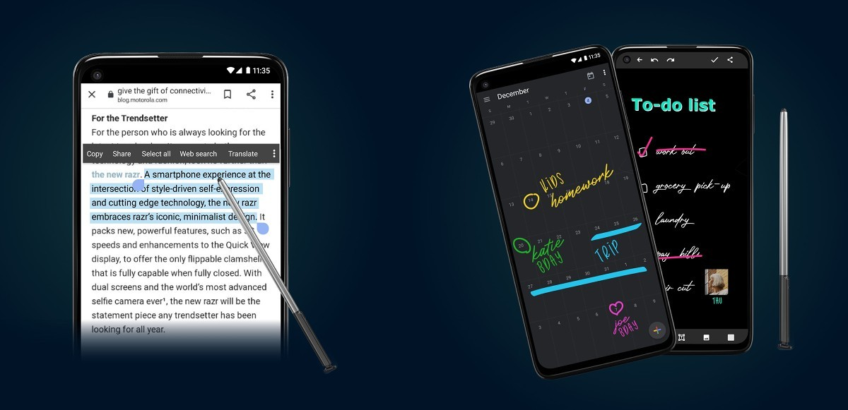 Motorola unveils new G Stylus, G Power and G Play for North America