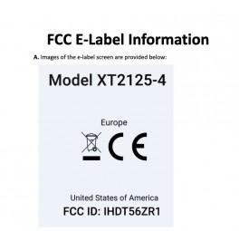 Motorola XT2125-4 FCC listing