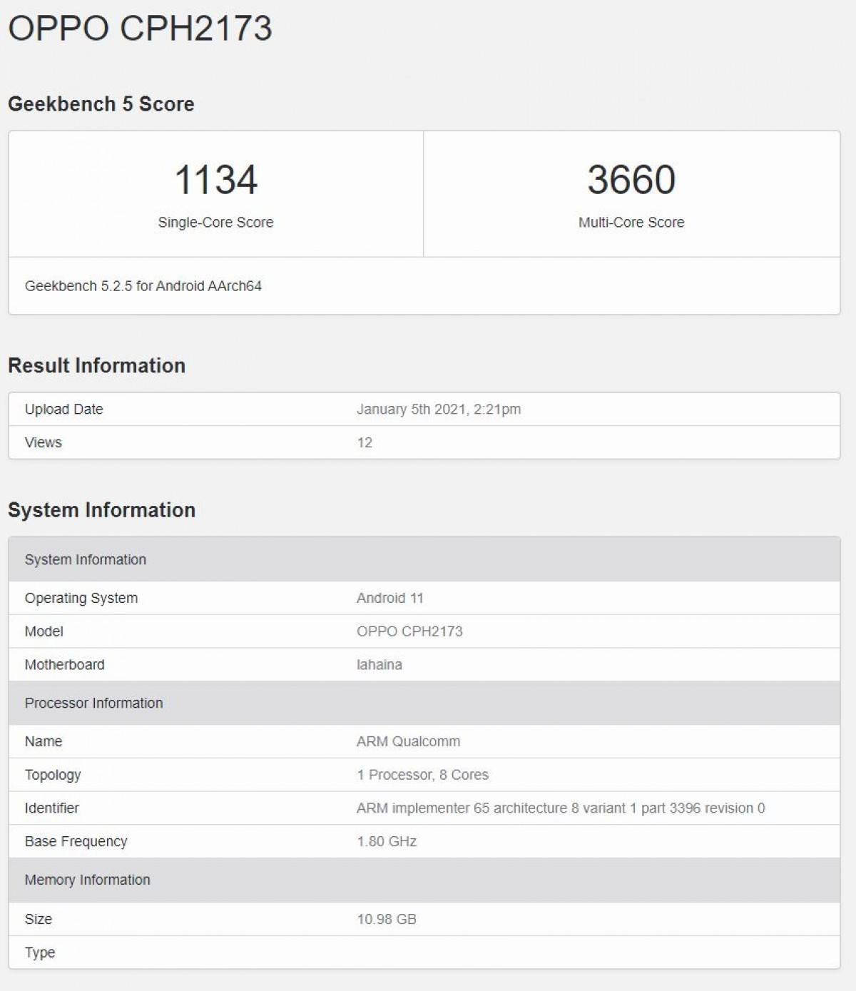 Oppo Find X3 also brings Snapdragon 888 to Geekbench