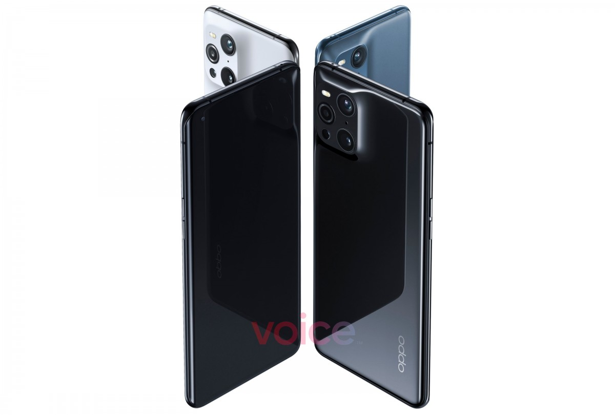 Oppo Find X3 Pro leaks in official-looking renders, showcasing unique  camera hump - GSMArena.com news