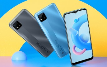 Ultra-affordable Realme C20 is official with Helio G35, big 5,000 mAh battery