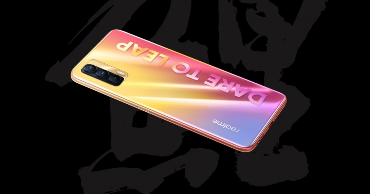 Realme V15 5G, sold only in China
