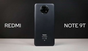 Redmi Note 9T front and back