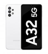 Samsung Galaxy A32 5G en blanc impressionnant