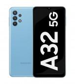 Samsung Galaxy A32 5G en bleu impressionnant