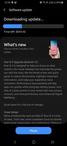 One UI 3.0 (Android 11) update for the Samsung Galaxy M21
