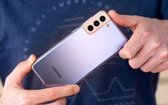 Samsung Galaxy S21+ in for review