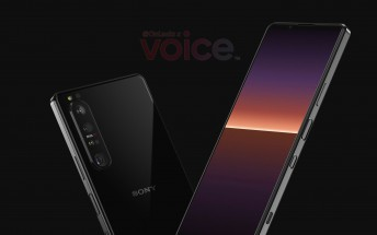 First Sony Xperia 1 III renders show a periscope camera, slimmer bezels