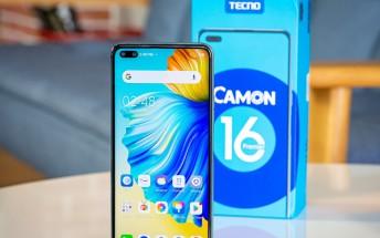 Tecno Camon 16 Premier arrives in India, sales begin January 16