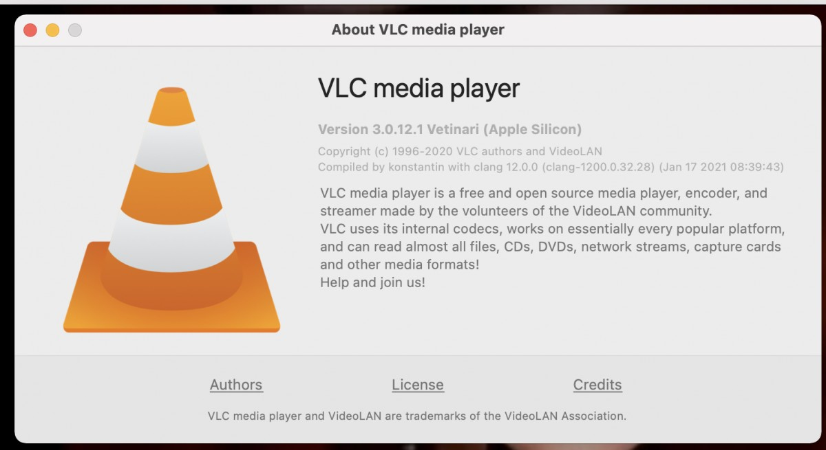 VLC update brings native support for M1-powered Macs, fixes macOS audio issues