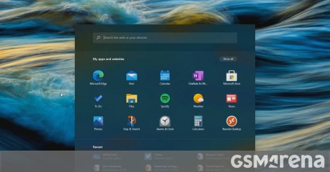 Here's our first look at Windows 10X in use - GSMArena.com news
