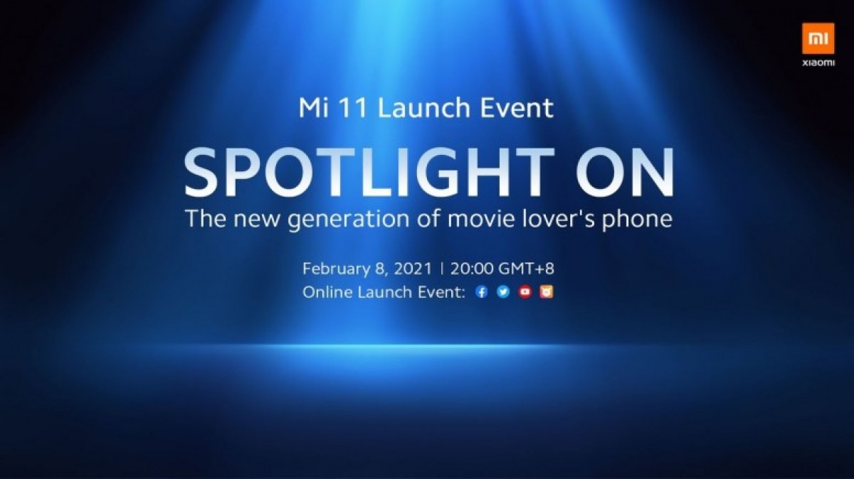 Xiaomi Mi 11 and MIUI 12.5 global announcement scheduled for February 8