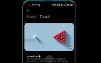 Leak showcases Xiaomi's new haptic feedback system for MIUI 12.5