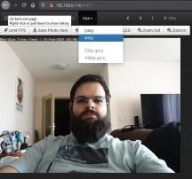 DroidCam web interface - News 21 02 Android Webcam App Test review