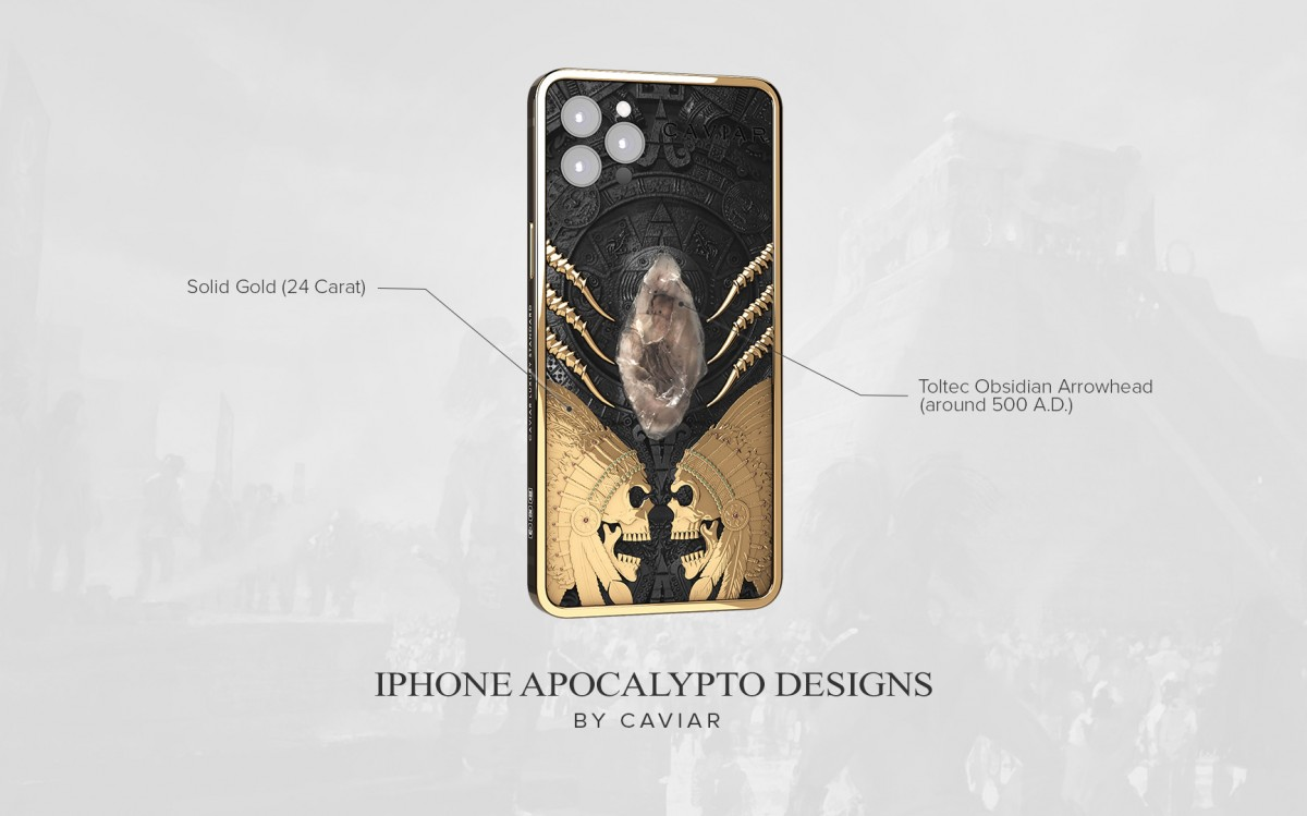 Caviar brings out the second iPhone 12 Pro Warrior collection