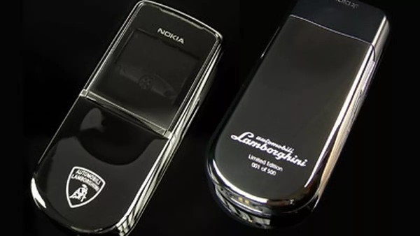 Flashback: not so weird car branded phones, part 2 - Lamborghini, Ferrari, Spyker, Porsche