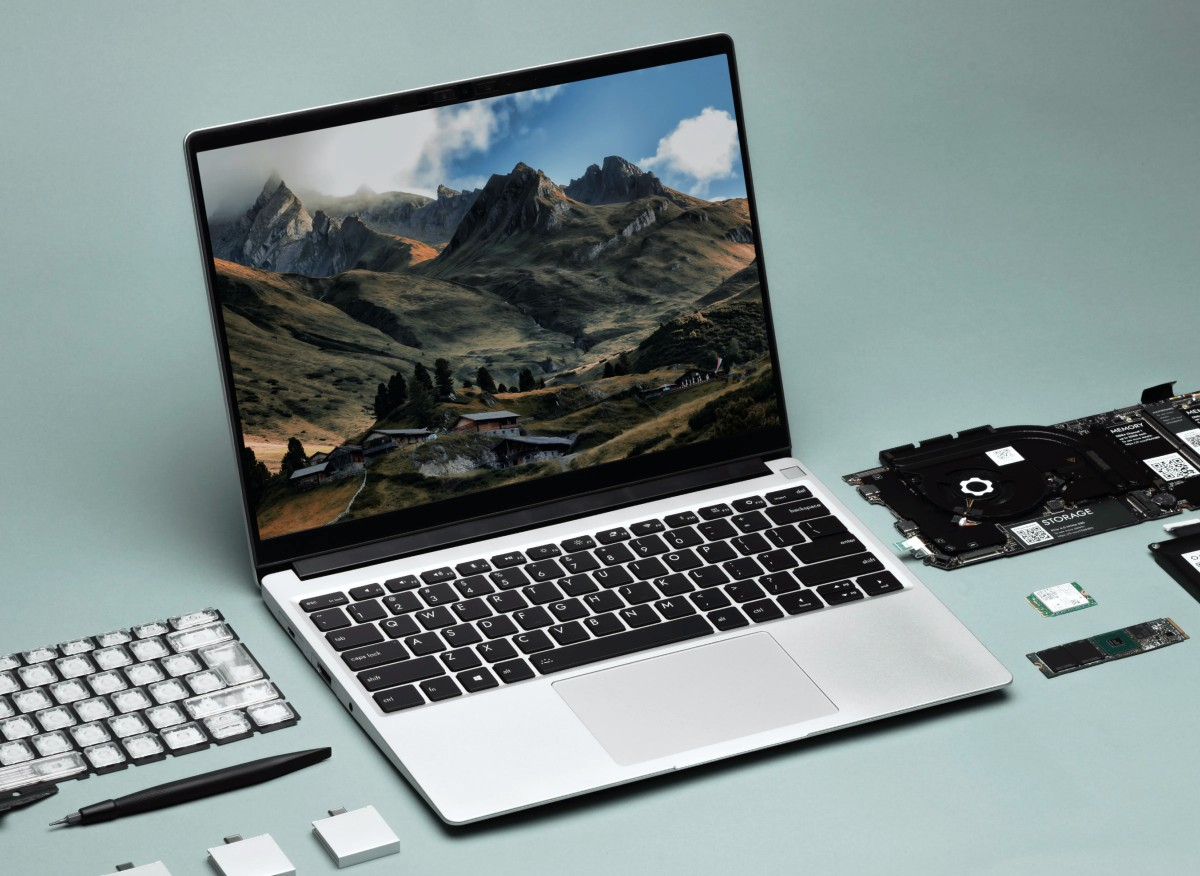 The Framework Laptop is a modular notebook with easy to replace parts