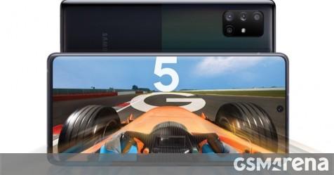 Samsung Galaxy A71 5G now receiving the Android 11 + One UI 3.0 update, 4G version still waiting - GSMArena.com news - GSMArena.com