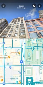 New split screen mode for Street View on Google Maps
