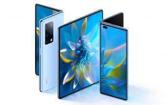 Huawei Mate X2 announced with in-folding design, periscope camera