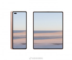 Alleged Huawei Mate X2 image