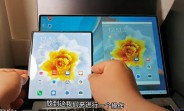 Huawei's Mate X2 shown in action with Multi-Screen Collaboration (PC mirroring)