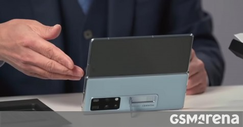 Huawei Mate X2 official unboxing video shows off the phone and its rich retail package