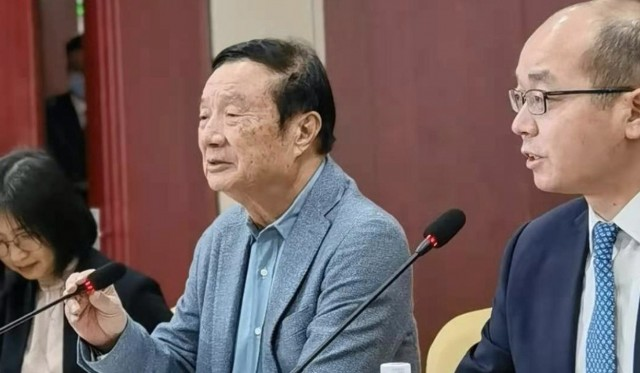 Ren Zhengfei (credit: South China Morning Post)