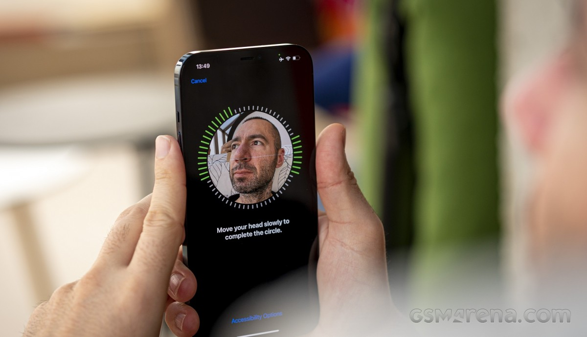 iPhone 12 Pro Max with Face ID
