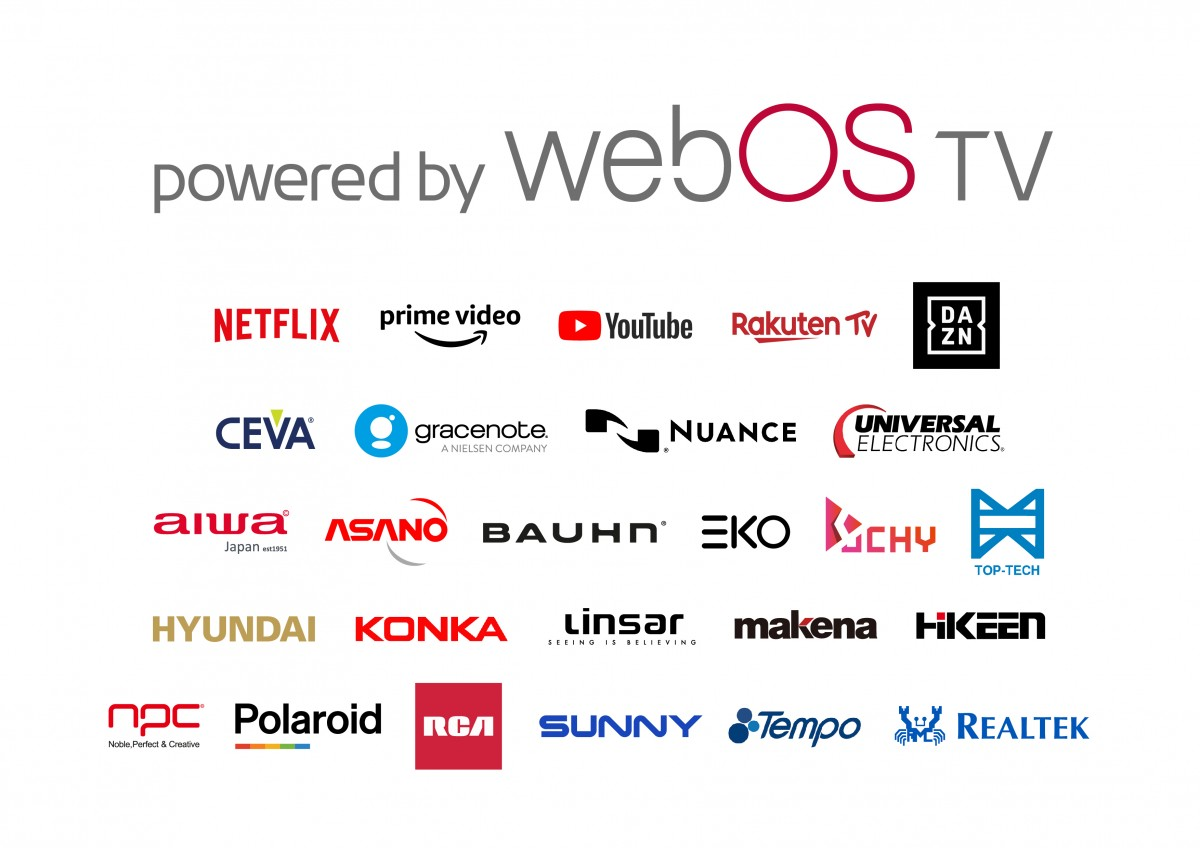 LG is licensing its webOS to other smart TV makers