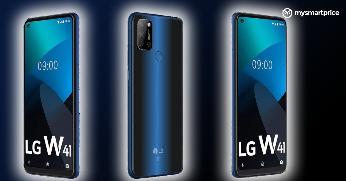 LG W41 series incoming with three phones