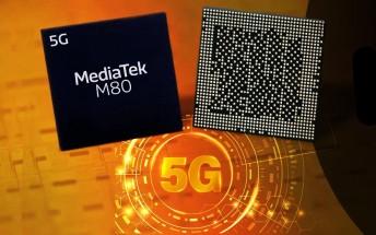 MediaTek unveils its first mmWave modem - the M80 can reach 7.67 Gbps downlink speeds