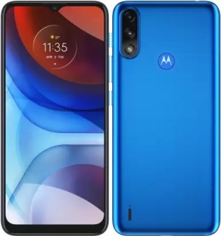 Motorola Moto E7 Power in Tahiti Blue color