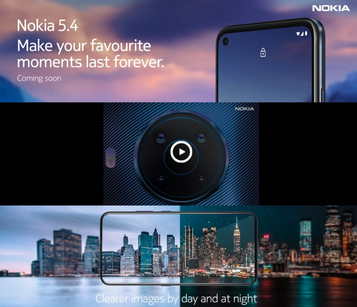 """Nokia 5.4 listed on Flipkart, """"coming soon"""" to India"""